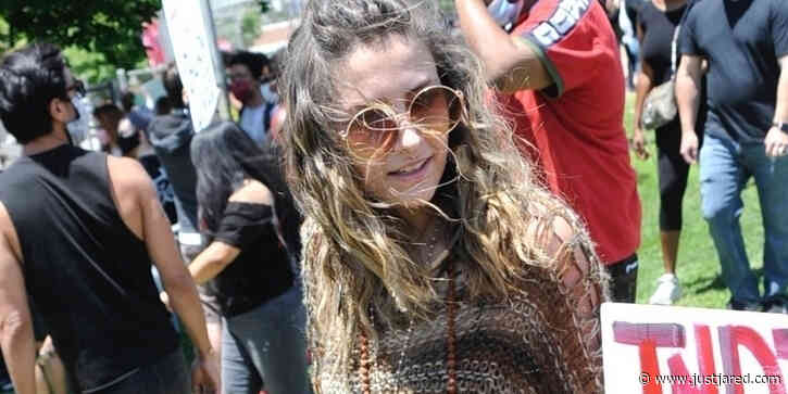 Paris Jackson Attends George Floyd Protests in Los Angeles