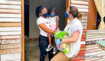 En Bolívar, ICBF entrega canastas alimentarias durante la pandemia - Caracol Radio