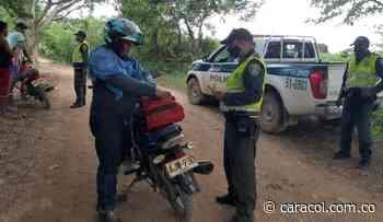 Por llegada del Coronavirus, policía aumenta controles en Mompox, Bolívar - Caracol Radio