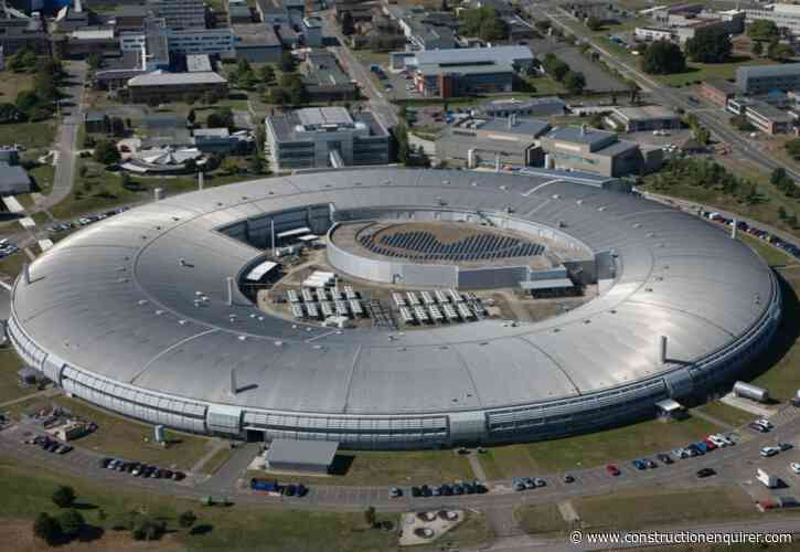 Leaking diamond synchrotron roof to be replaced
