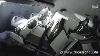 US-Raumfahrt: SpaceX-Kapsel erreicht ISS   tagesschau.de - tagesschau.de