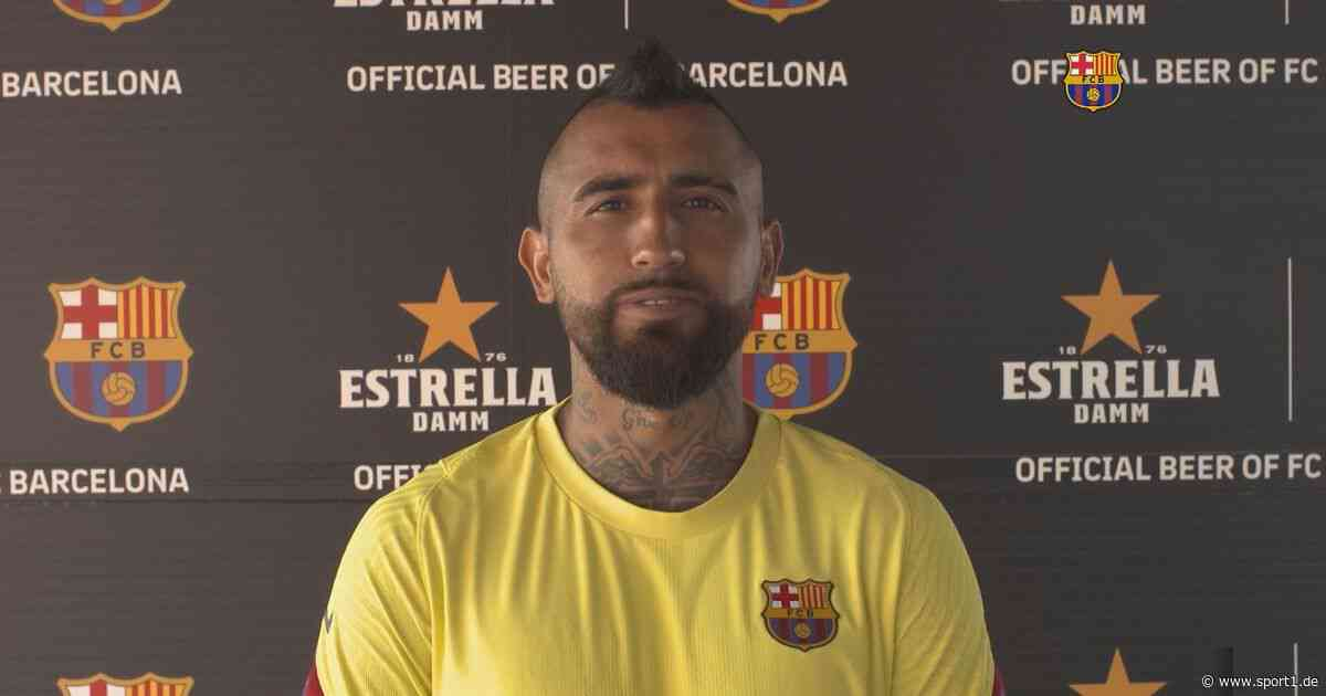 """FC Barcelona: Arturo Vidal will """"weiterhin Geschichte schreiben"""" - SPORT1"""