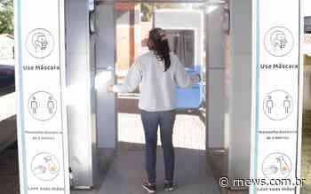 Prefeitura de Caieiras instala cabine de higienização no terminal rodoviário - RNews