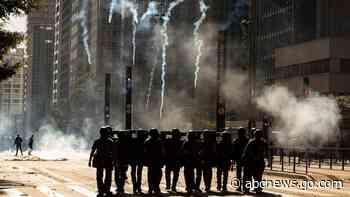 Police disperse anti-Bolsonaro protesters in Brazil