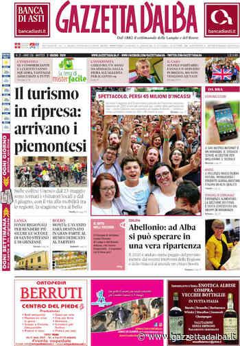 La copertina di Gazzetta d'Alba in edicola lunedì 1° giugno - http://gazzettadalba.it/