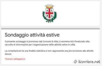 Alba: un sondaggio anonimo tra le famiglie da compilare entro il 5 giugno - https://ilcorriere.net/