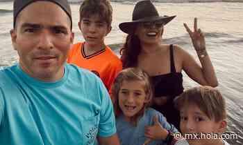 La tierna felicitación de Galilea Montijo para el hijo mayor de su esposo - MX.HOLA.COM