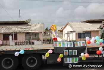 Fuerzas Armadas rinden homenaje a niños en la Brigada Galápagos de Riobamba - expreso.ec
