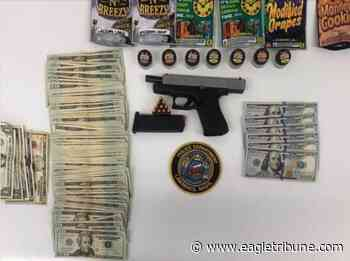Police: Lawrence man tried to sell gun, pot on social media - Eagle-Tribune