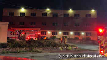 Firefighters Respond To Vacant Office Building Fire In Penn Hills