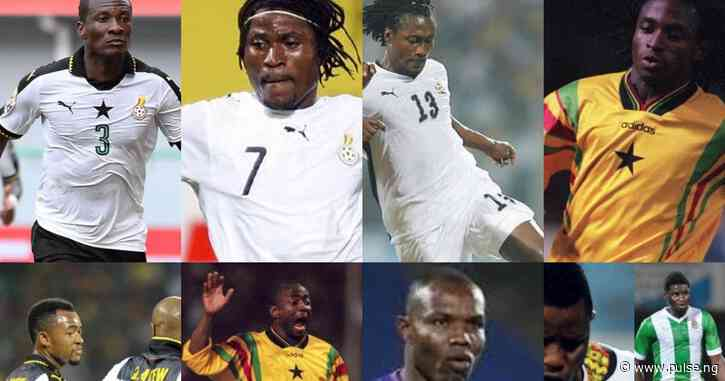The 5 Ayews and other brothers who played in the same Black Stars team