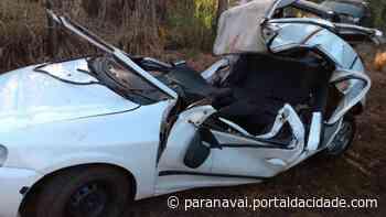 Três pessoas morrem em acidente de carro na PR-182, em Loanda - ® Portal da Cidade | Paranavaí