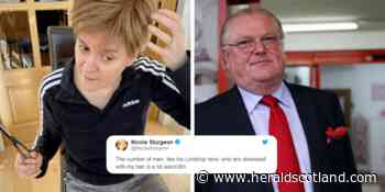 Nicola Sturgeon responds to theory over 'immaculate' hair as English lord hints at lockdown breach - HeraldScotland