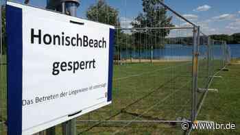 """""""Kein zweites Ischgl"""": Niedernberg sperrt Badesee-Liegefläche - BR24"""