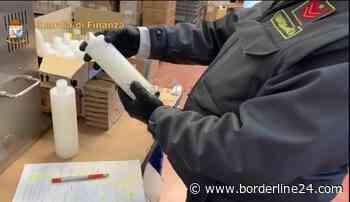"""Sequestrati 1800 gel """"non igienizzanti"""": due imprenditori di Trani denunciati - VIDEO - Borderline24 - Il giornale di Bari"""