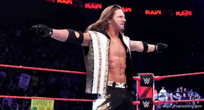 AJ Styles Discusses The Expectations For His WrestleMania Match With Shinsuke Nakamura