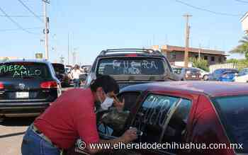 Región agrícola de Delicias, se unen a la caravana contra AMLO - El Heraldo de Chihuahua