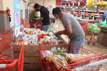 DIF Delicias recolecta y reparte donativos que llegan a contenedores de Alsuper - Juárez a Diario