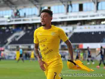 Jadon Sancho breaks former Luton striker Brian Stein's record with his hat-trick for Borussia Dortmund - Luton Today