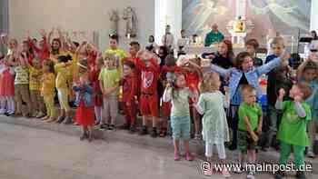 """Heustreu: Pfarrfest-Gottesdienst """"im Farbenland"""" - Main-Post"""