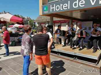 Cantal. Un marché de nouveau animé à Arpajon-sur-Cère - actu.fr