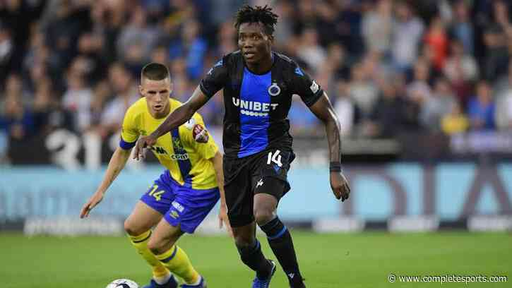 Okereke Nominated For Club Brugge Goal Of The Year Award