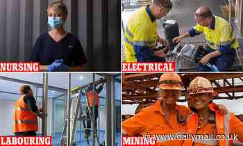 COVID-19 coronavirus Australia jobs in demand include nurses, labourers and electricians - Daily Mail