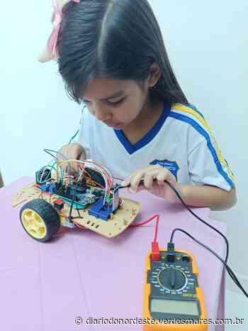 Crianças de Juazeiro do Norte representam o Cariri em competição internacional de robótica - Diário do Nordeste