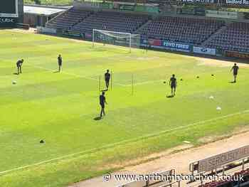 IN PICTURES: Cobblers make long-awaited return to training - Northampton Chronicle and Echo