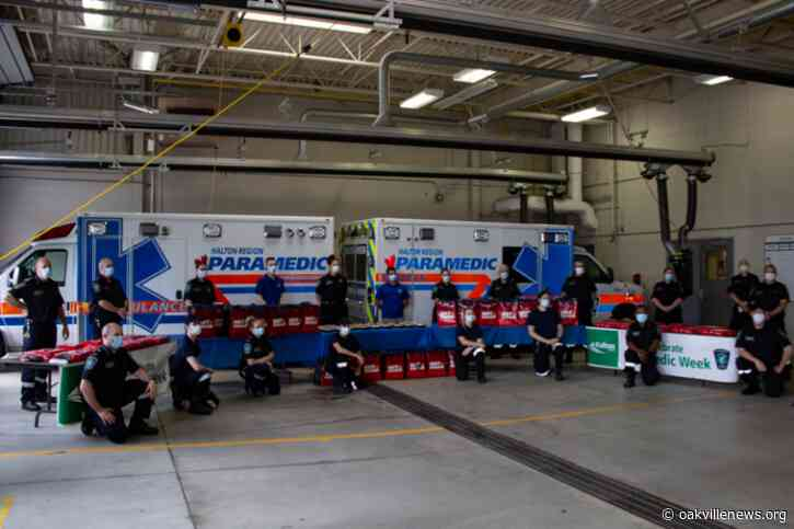 Oakville community helps Halton emergency responders