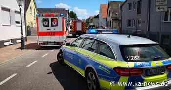 Unfall in Eggenstein-Leopoldshafen: Autofahrer erleidet Kopfverletzungen - ka-news.de
