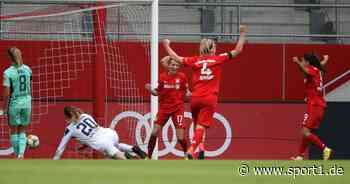 Frauen-Bundesliga: FC Bayern besiegt TSG Hoffenheim - SC Freiburg siegt spät - SPORT1