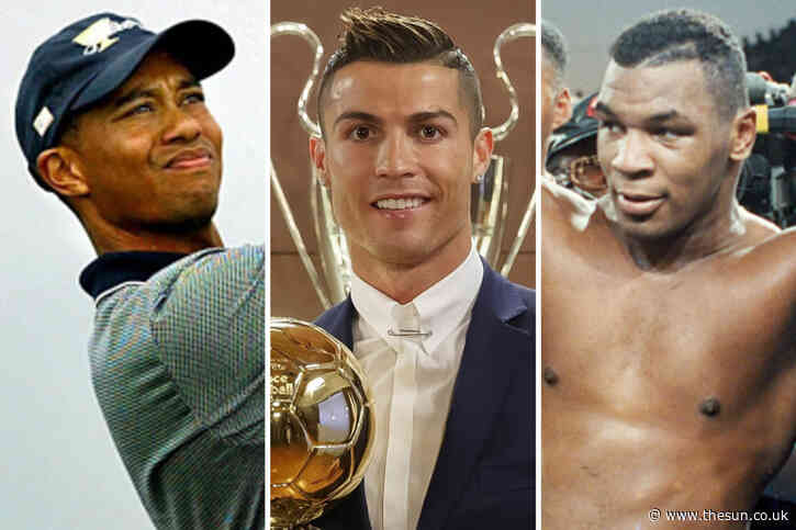 How Michael Jordan, Mike Tyson, Cristiano Ronaldo became the biggest earning sports stars from 1990-2020