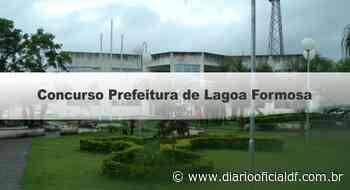 Concurso Prefeitura de Lagoa Formosa MG: Inscrições Encerradas - DIARIO OFICIAL DF - DODF CONCURSOS