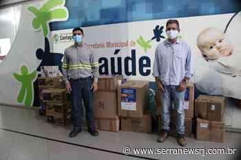 Instituto Votorantim doa kits à profissionais de saúde de Cantagalo - Serra News