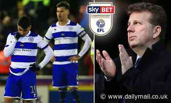 QPR say they're 'absolutely appalled' by Championship restarting on June 20