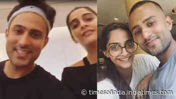 Sonam Kapoor posts video complaining of hubby Anand Ahuja not letting her workout and it is pure gold