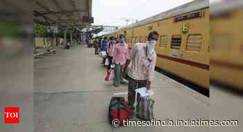 Rly board asks zones to ensure punctuality of Shramik Spl trains