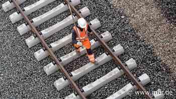 Vollsperrung: Bahnstrecke Weimar-Apolda wird generalüberholt - MDR
