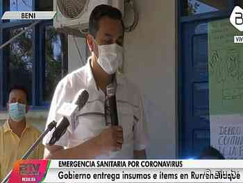 Gobierno entrega ítems e insumos médicos a Rurrenabaque para la lucha contra el coronavirus - eju.tv