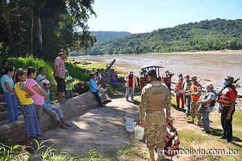 Defensa Civil, Armada, ABC y religiosas entregan alimentos en Rurrenabaque - FmBolivia