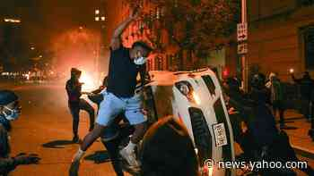 Downtown D.C. burns after another night of protests and provocation near the White House