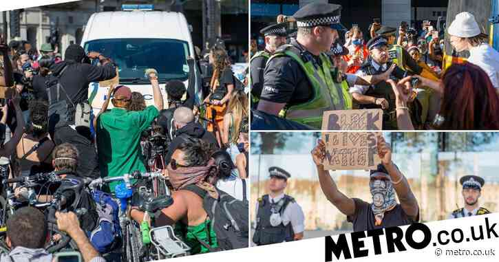 UK Black Lives Matter protesters plan 'day of action' amid coronavirus fears