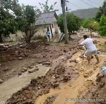 Piojó se vio efectado por las torrenciales lluvias de este viernes - Diario La Libertad