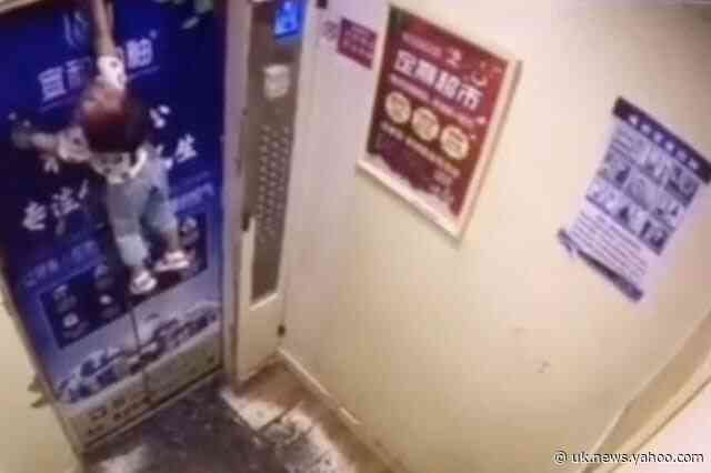 Toddler hoisted by her leash in lift ordeal