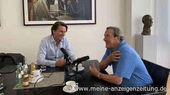 """""""Nichts als Verachtung für ihn"""": Hat Altkanzler Schröder in seinem Podcast zu viel ausgeplaudert?"""
