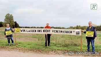 Gegenwind: Protest gegen geplantes Aldi-Lager in Stelle