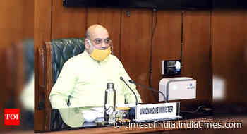 Amit Shah reviews preparations to deal with cyclone; assures help to Gujarat CM Rupani and Maha CM Thackeray
