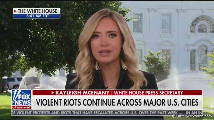 Kayleigh McEnany: A Trump 'Oval Office Address Is Not Going to Stop Antifa'