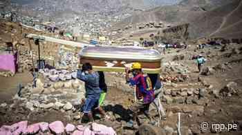 Coronavirus en Perú | Nueva Esperanza | Peruanos entierran a posibles fallecidos por COVID-19 en cementerio de Villa María del Triunfo [FOTOS] - RPP